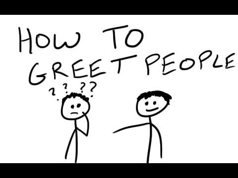 How to greet people youtube how to greet people m4hsunfo