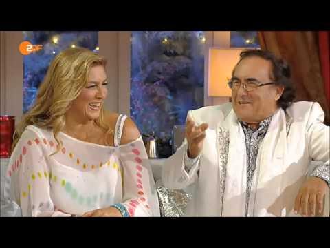 Al Bano und Romina Power - Funny!  Lustiges Interview mit Carmen Nebel! Heiligabend 2014