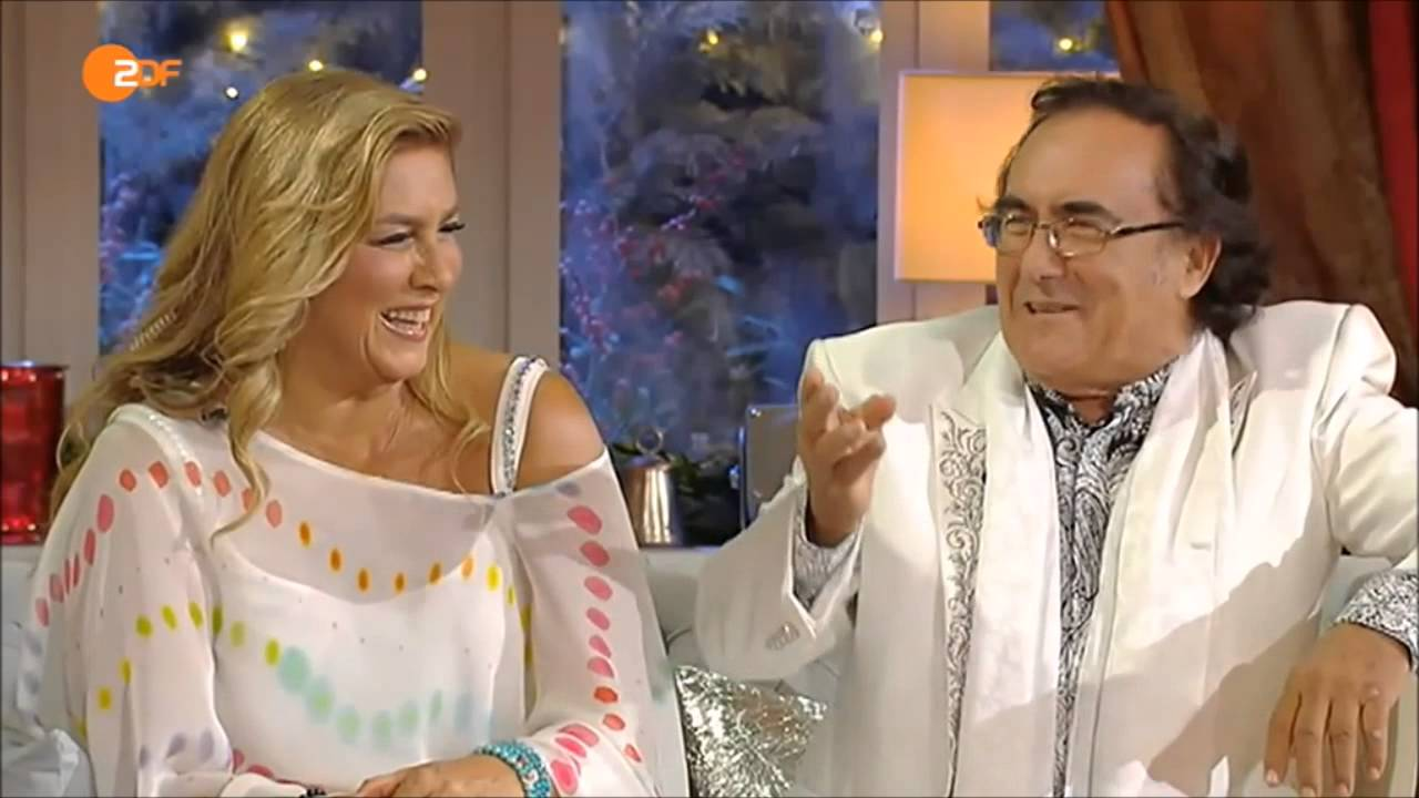 Al bano und romina power funny lustiges interview mit for Al bano und romina