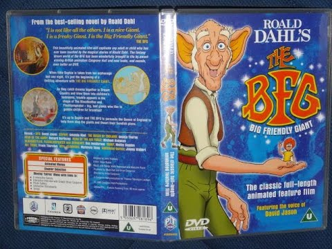 Opening to The BFG (The Big Friendly Giant) (Film 1989)(DVD UK)
