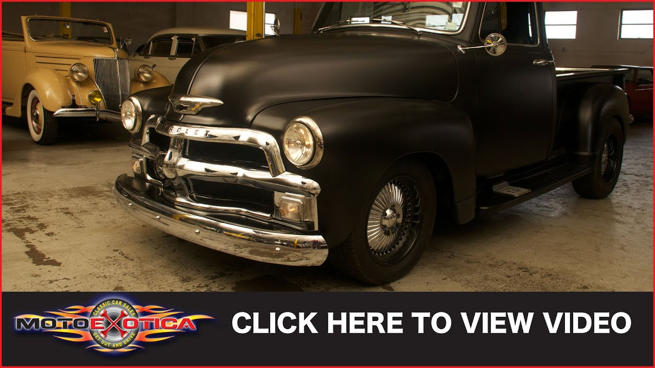 1954 Chevrolet Pickup Truck Sold Youtube Chevy Air Cleaner