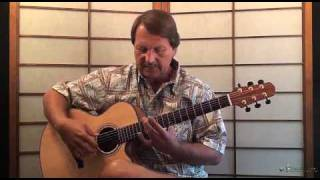 Roundabout Acoustic Guitar lesson Preview  by Yes