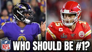 #1 Player In Tнe NFL: Lamar Jackson or Patrick Mahomes