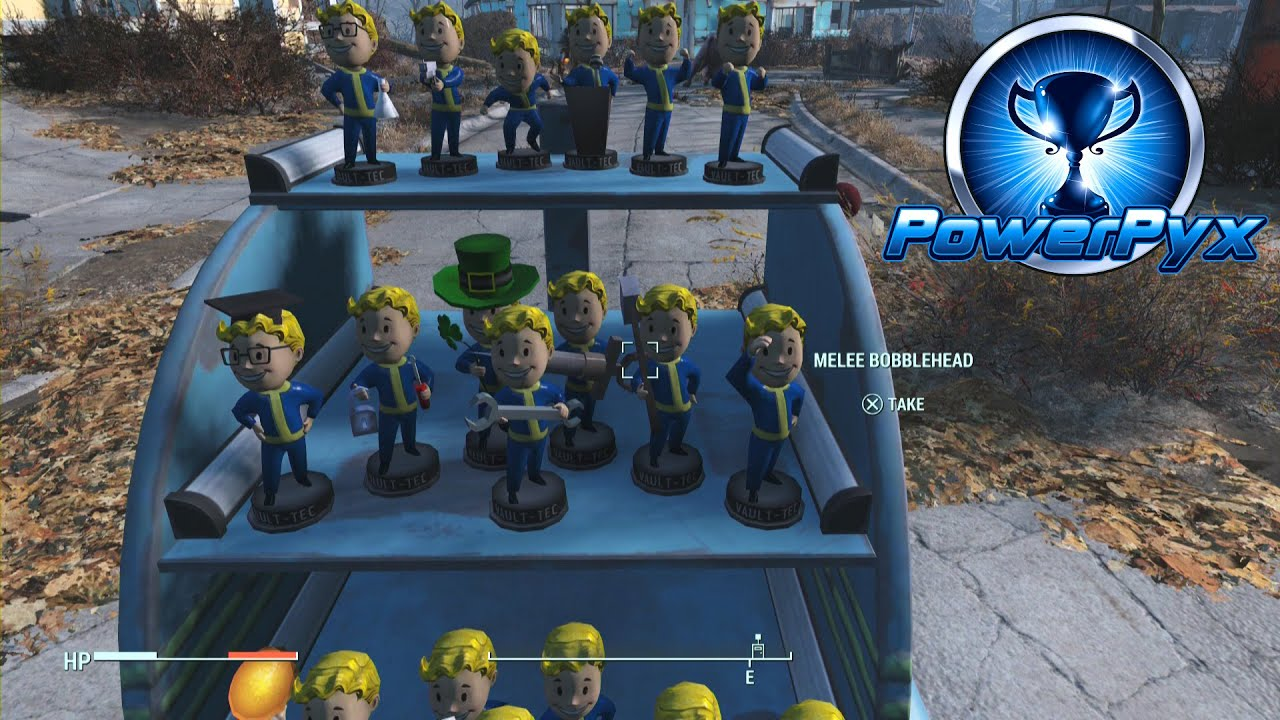 fallout 4 all bobblehead locations they re action figures trophy