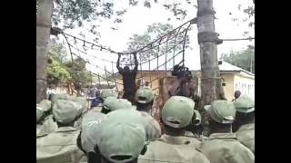 NYSC Camp Training/drilling