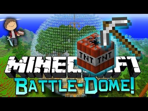Minecraft: Crazy Battle-Dome w/Mitch & Friends!