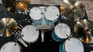 Unboxing My Buddy's Dream Kit! - Pearl Session Studio Select