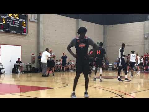2018 SDSU Team Camp - Balboa School game 6 of 9
