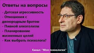 Михаил Лабковский Планирование жизненных целей Ответы на вопросы