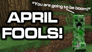 Minecraft April Fools Joke - Villager Voices