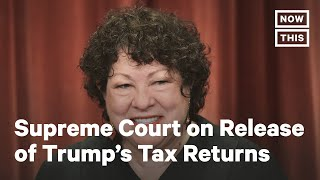 Supreme Court Hears Cases on Trump Financial Records | NowThis