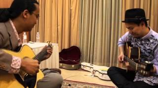 Blues Jam | Akihiro Tanaka (Japan) & Az Samad (Malaysia) at MIGFest 2013