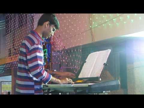 Dhaker Tale Komor Dole| Durga Puja Song | Paran Jai Jaliya Re | Keyboard Cover