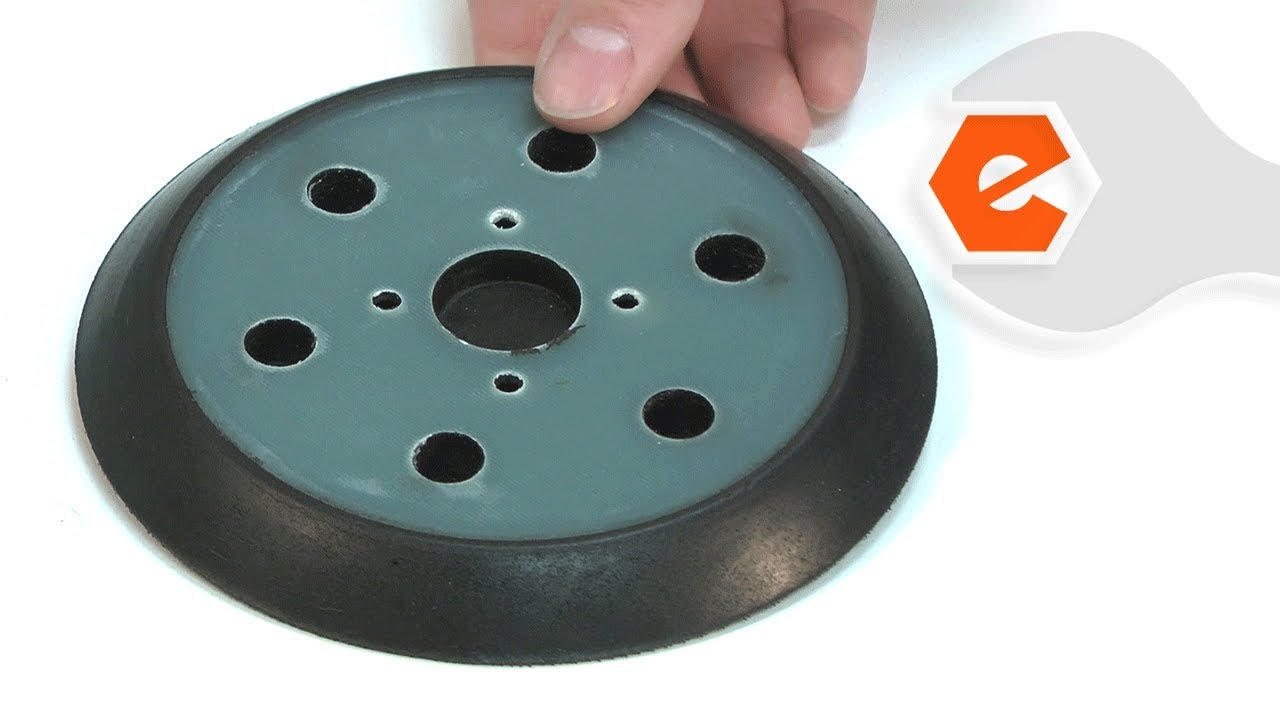6 in Pad Diameter Disc Backing Pad 4 Units