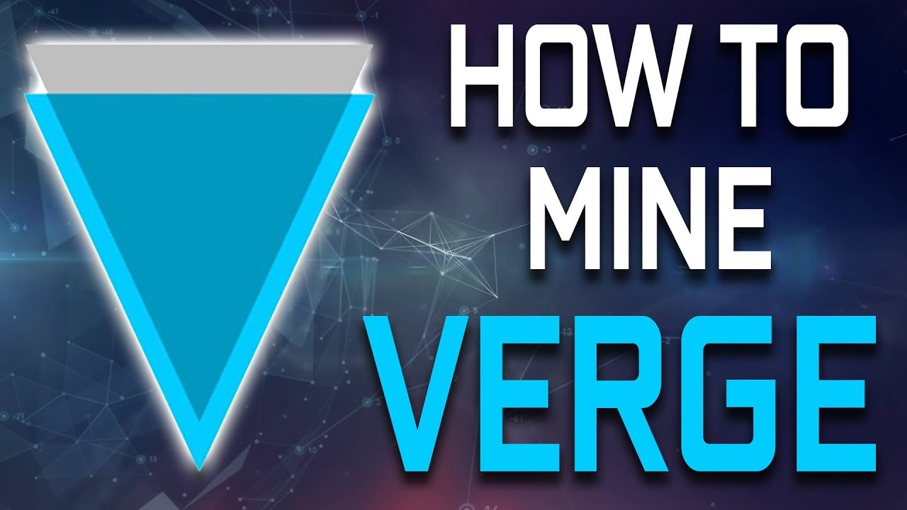 How To Mine Verge Coin (XVG) On NVIDIA GPU (SUPER EASY)