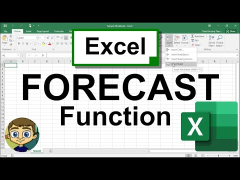 The Excel FORECAST Function