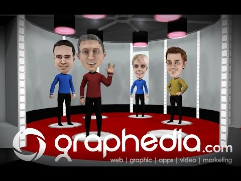 Graphedia Website Designers  Ireland Trekkie Animation Ad : Are You Out Of Your Vulcan Mind?