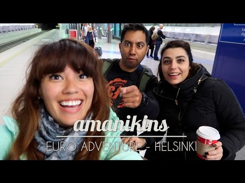 EUROPEAN ADVENTURE | DAY 1 - HELSINKI
