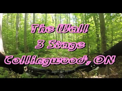 Mountain Biking: The Wall, 3 Stage, Collingwood, ON