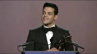 Rami Malek gives acceptance speech for Breakthrough Performance Award at Palm Springs Film Fest