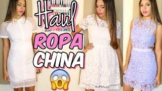 HAUL Ropa CHINA: VALE la Pena?!?! | Mirianny