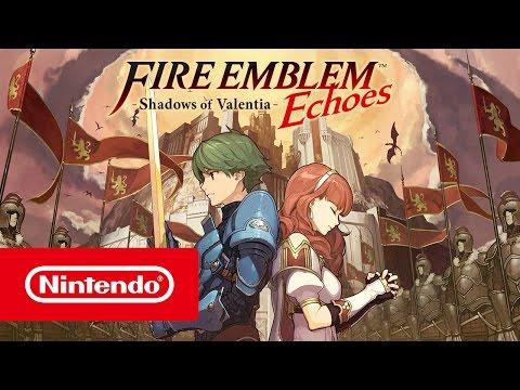 Fire Emblem Echoes - Launch Trailer (Nintendo 3DS)