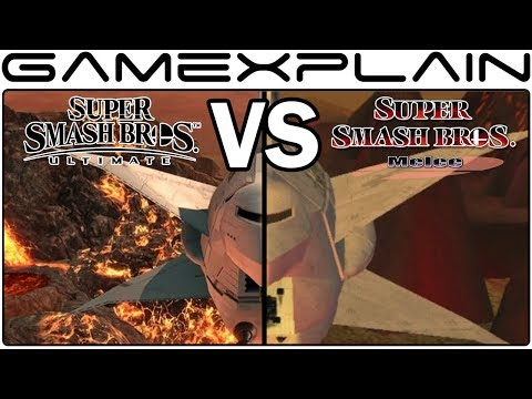Super Smash Bros. Ultimate Graphics Comparison: Switch vs. GameCube's Melee (ALL RETURNING STAGES!) thumbnail