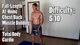 8 Minute At Home Chest, Back, and Legs Workout - Inferno Ep 2.