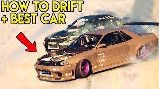 GTA Online - Best Drift Car + How To Get Started Drifting Easy