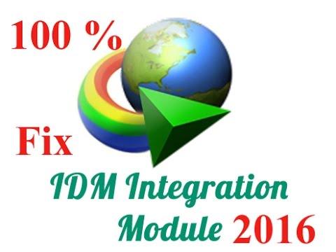 idm integration module chrome