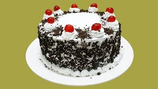 SIMPLE EASY BLACK FOREST CAKE || HOMEMADE!!