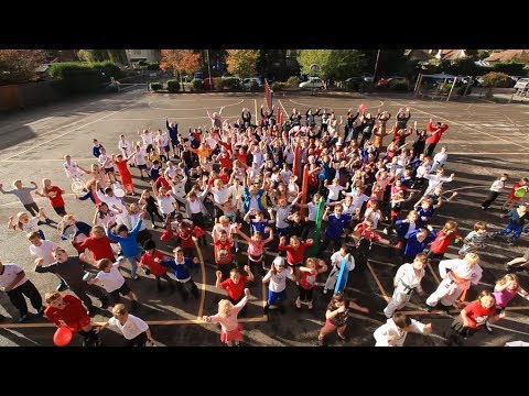 Step It Up for Sport Relief - Official Sport Relief 2014 Schools' Song