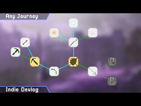 Skill Tree | Indie Game Dev: Week 20 (Procedural RPG)