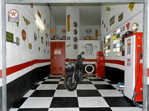 decoracion vintage garage