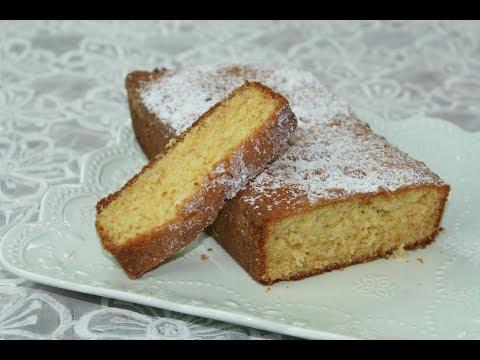 gâteau-quatre-quart-à-la-vanille