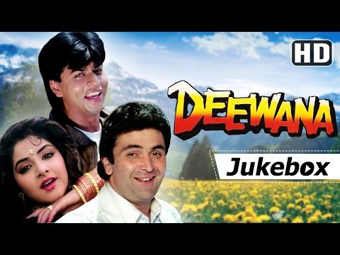 Deewana 1992 Songs HD - Shahrukh Khan, Rishi Kapoor, Divya Bharti | Hits of Kumar Sanu & Alka Yagnik: 0:00:12 - Aisi Deewangi Dekhi Nahin 0:06:24 - Teri Umeed Tera Intezar (Part 1) 0:12:44 - Payaliya Teri Payaliya 0:20:04 - Sochenge Tumhe Pyar 0:26:08 - Tere Dard Se Dil 0:30:56 - Koi Na Koi Chahiye 0:37:15 - Teri Issi Ada Pe Sanam 0:41:36 - Teri Umeed Tera Intezar (Part 2)  Deewana is a 1992 movie starring Shahrukh Khan, Rishi Kapoor and Divya Bharti. The music of the film was composed by Nadeem-Shravan. Kumar Sanu, Alka Yagnik and Vinod Rathod have lent their voice for the movie. We bring to you a compilation of all the songs of this movie  #Deewana #ShahrukhKhan #RishiKapoor #DivyaBharti #KumarSanu #AlkaYagnik #FilmiGaane  From the latest Bollywood songs to the oldest,   SUBSCRIBE now to http://www.YouTube.com/FilmiGaane  To see all the latest music playlists that we've created just for you, click here - https://www.youtube.com/user/filmigaane/playlists  To Download Filmigaane App click here: http://twd.bz/fg  Connect with us on:-  Facebook - http://www.Facebook.com/FilmiGaane Twitter - http://Twitter.com/FilmiGaane  Join us on Pinterest - http://pinterest.com/shemaroo Circle & Follow us on google.com/+filmigaane Sign up for Free and get daily updates on New Videos, exclusive Web Shows, contests & much more http://youtube.shemaroo.com/default.aspx  Send us your feedback and suggestions at : connect@shemaroo.com