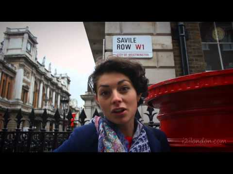 London Shopping Guide; Savile Row to Oxford Street