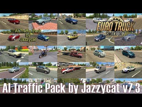 ETS2 v1 31 I Mod ▶️ AI Traffic Pack by Jazzycat v7 3 [Deutsch/HD]