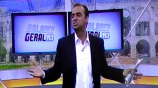 Portal RJ TV: Rogério Forcolen dá piti ao vivo