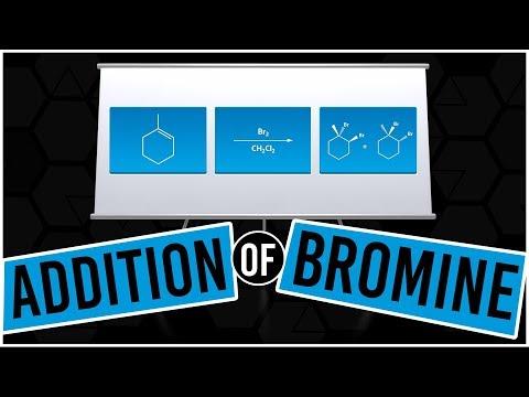 Addition Of Bromine Across Alkenes - Organic Chemistry