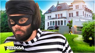 BREAKING Into The BIGGEST House in the GAME! (Thief Simulator #10)