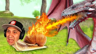 Can A Snail Defeat A Dragon..
