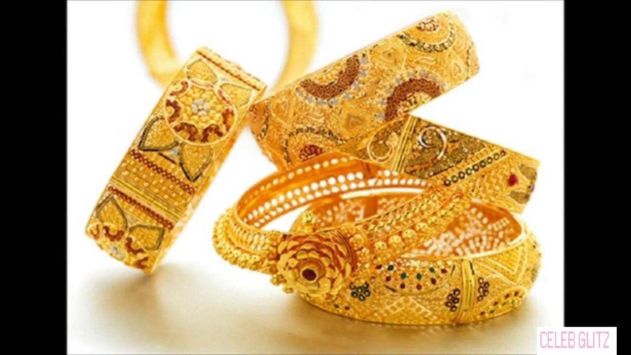 Latest Gold Bangles Designs - YouTube