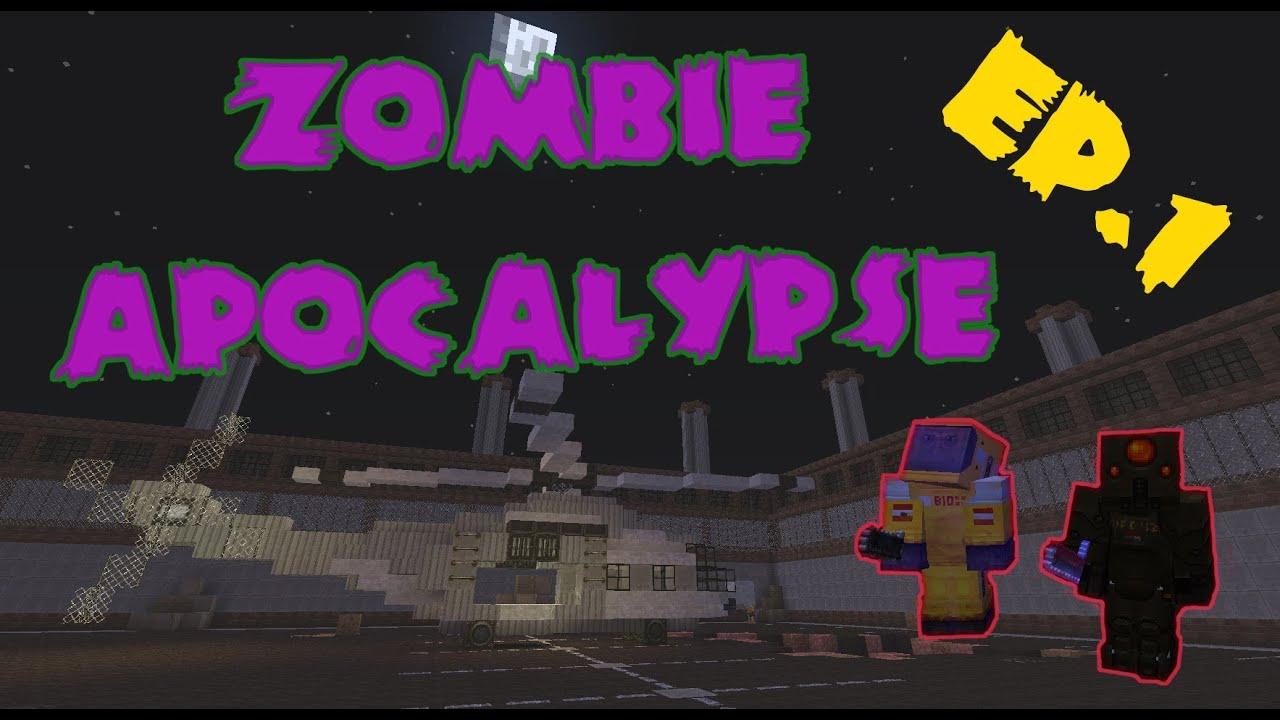 Zombie Apocalypse - EP.12  Minecraft Adventure Map Co-op