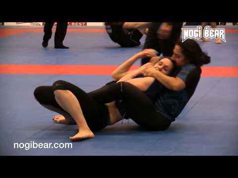 Ana Machado vs Christina Wolfe • IBJJF NY Spring Open 2015 • Women's No Gi Blue Belt Open Final