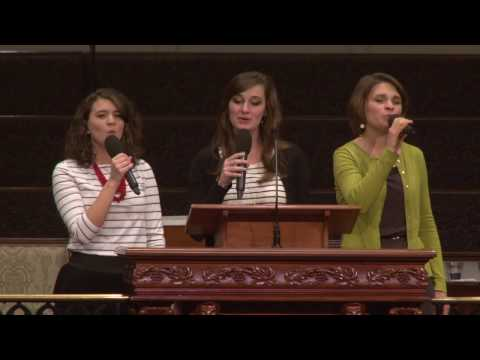 Stand Still and Let God Move given by Ladies' Trio