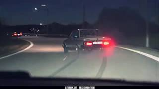 Volvo 240 LM7 Turbo 730whp insane drifting