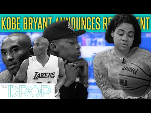 Kobe Bryant Announces Retirement - The Drop Presented by ADD