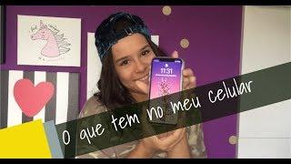 O QUE TEM NO MEU CELULAR | IPHONE X - GABRIELLA SARAIVAH iPhone 検索動画 23