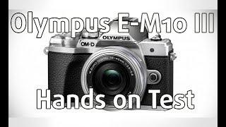 Olympus E-M10 Mark III Hands on Test (Nederlands) | Foto de Vakman